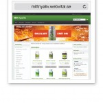 Webshop Mitt nya liv