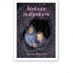 """Agneta Benstens bok """"Älskade indigobarn"""", en grålila framsida med två små pojkar."""