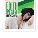 """Edith Backlund """"Kill the clowns"""" omslag"""