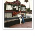 Jag och T utanför Universal Studios 1995.