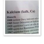 Text om Kalcium ur Näringsmedicinska Uppslagsboken.