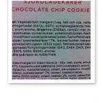 Innehållsförteckning över glutenfria chokladkakor.