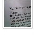 Text om Natrium om Näringsmedicinska Uppslagsboken.