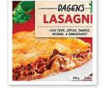 Bild på Findus förpackning av lasagne, som innehållit hästkött.