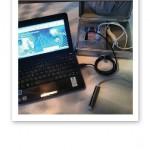 Närbild på analysverktyget QMA.