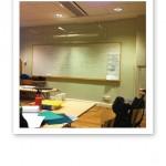 Ett klassrum på FMNS - Funktionsmedicinska Näringsskolan.