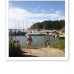 Grindas båthamn.
