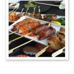 Sticks från Sushi'n'Sticks, på Tivoli Hotel Köpenhamn.