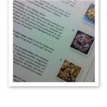 Text och bild om tillagning av mat.