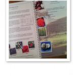 Text och bild på uppslag i 1.Grunderna i läkande kost