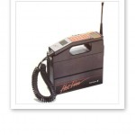 Yuppienallen, en av de första mobiltelefonerna.