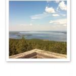 Utsikten från utkikstornet.
