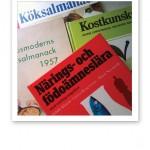 Gamla böcker om kost- och näringslära