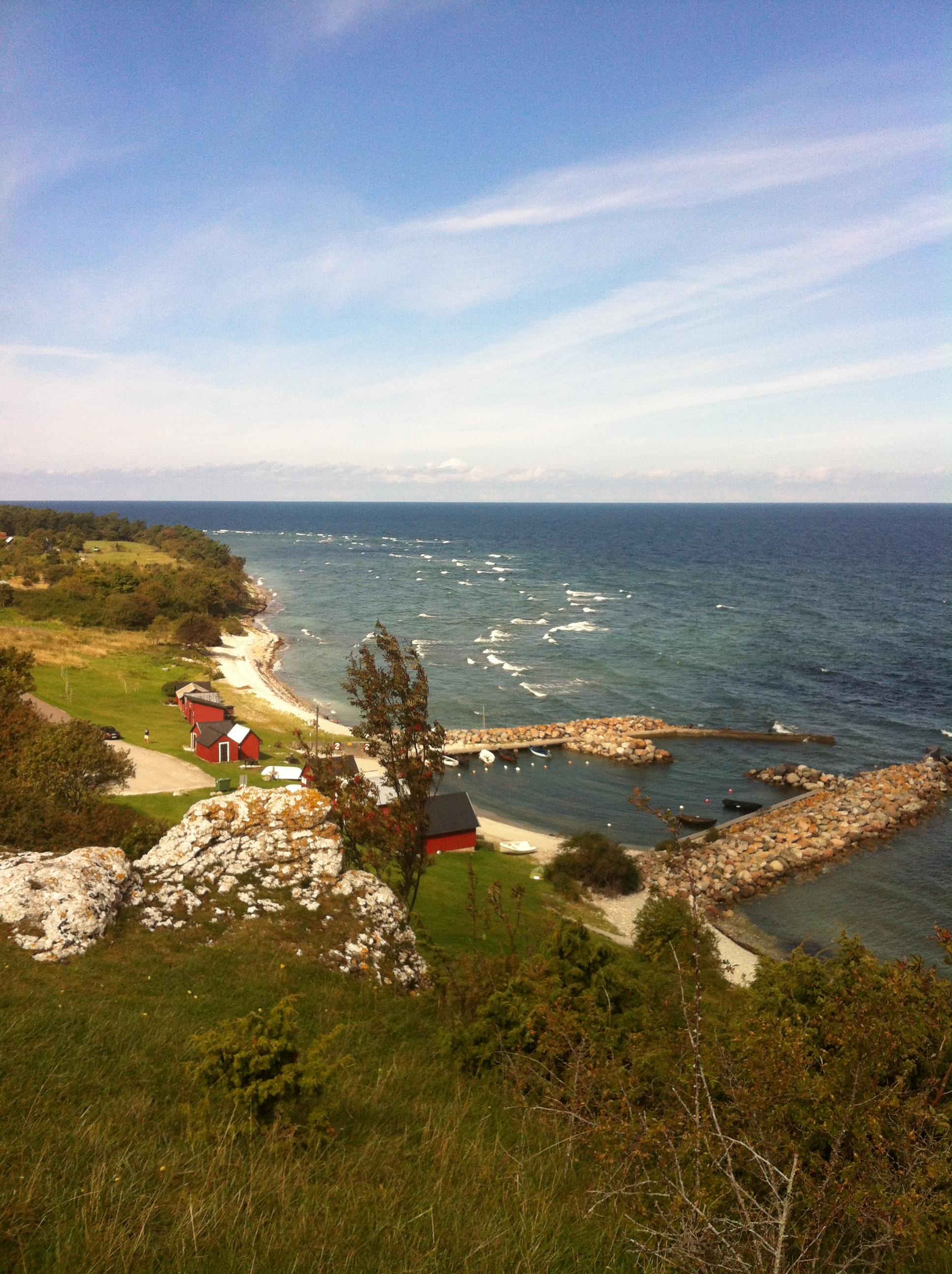 Utsikt från vår picknick.