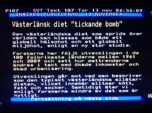 Västerländsk diet är en tickande bomb_1