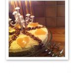 tårta i guld