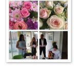blommor och sång