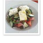 grekisk sallad strandbaren