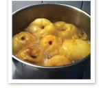kokta äpplen