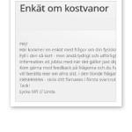 enkät kostvanor_