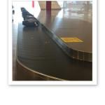 Bagageband resväskor